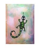 Gecko Fotodruck von Jill English