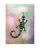 Gecko Photographic Print by Jill English