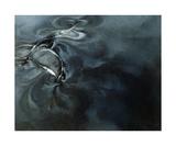 Humpback Whale Series I: I Fotografisk tryk af Heather Theurer