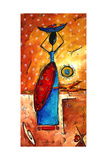 African Queen Photographic Print by Megan Aroon Duncanson