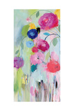 Artist's Bouquet Panel 1 Premium Giclee Print by Carrie Schmitt