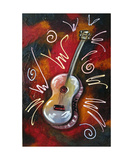 SOUL Guitar Photographic Print by Jill English