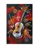 SOUL Guitar Photographic Print by Jill English