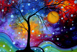 Winter Sparkle Posters by Megan Aroon Duncanson