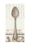 French Cuisine Spoon Premium Giclee Print by Devon Ross