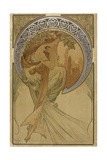 Advertising Poster for Thearts: Poetry Giclee Print by Alphonse Mucha