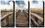 Path To Paradise Print by Michael Cahill