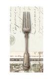 French Cuisine Fork Premium Giclee Print by Devon Ross