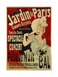 Jardin de Paris, Spectacle, Concert, Fête de Nuit, Bal Giclee Print by Jules Chéret