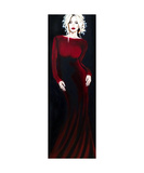 Dames and Dolls Red Photographic Print by Jill English