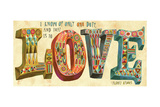 French Love Premium Giclee Print by Richard Faust
