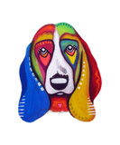 Clyde the Basset Hound Photographic Print by Jill English