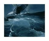 Humpback Whale Series I: IV Fotografisk tryk af Heather Theurer