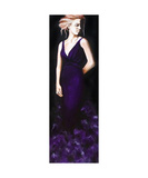 Dames and Dolls Purple Photographic Print by Jill English