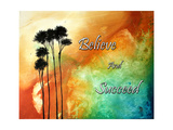 Believe and Succeed Photographic Print by Megan Aroon Duncanson