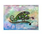 Chameleon Fotodruck von Jill English