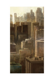 Metropolis City 2 Premium Giclee Print by Ken Roko
