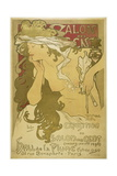 Advertising Poster Giclee Print by Alphonse Mucha