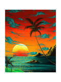 Tropical Burn Photographic Print by Megan Aroon Duncanson