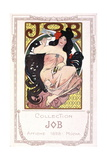Advertising Poster for the Cigarette Paper Job Giclee Print by Alphonse Mucha
