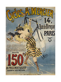 Avertising Poster for A. Mercier Bicycles Giclee Print by G. Berni