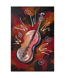 SOUL Violin Photographic Print by Jill English