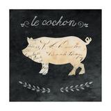 Le Cochon Cameo Sq Poster von Courtney Prahl