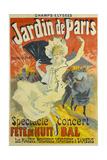 Jardin De Paris Giclee Print by Jules Chéret