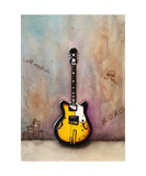 A Guitar Named Malone Photographic Print by Jill English
