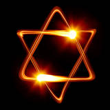 Star of David Created by Light Photographic Print by  Zoom-zoom