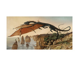 Air Dragon Photographic Print by Heather Theurer