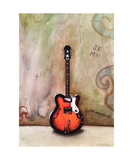 A Guitar Named Sheila Photographic Print by Jill English