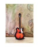 A Guitar Named Sheila Photographic Print by Jill English
