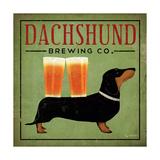 Dachshund Brewing Co. Affiches par Ryan Fowler