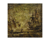 Two Ships in the Night Photographic Print by Jill English