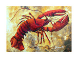 Coastal Luxe Lobster Photographic Print by Megan Aroon Duncanson