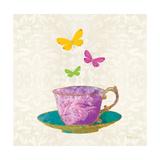 Sunshine Teacup Premium Giclee Print by Meili Van Andel