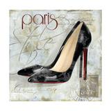 Paris Soles 2 Premium Giclee Print by Carlie Cooper