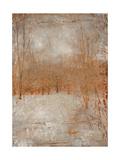 Rustic Poplars Premium Giclee Print by Matina Theodosiou