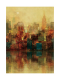 New York Sunshine Premium Giclee Print by Ken Roko