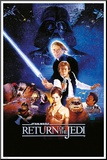 Star Wars Return Of The jedi Mounted Print