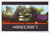 Minecraft World Video Game Poster Prints