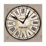 Industrial Chic Clock Premium Giclee Print by Arnie Fisk
