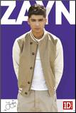 One Direction-Zayn-Colour Mounted Print