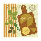 Modern Antipasti Premium Giclee Print by Lola Bryant