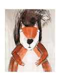 Playful Squirrel Premium Giclee Print by Madelaine Morris