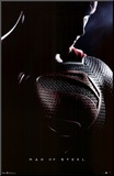 Man of Steel - Superman One Sheet Movie Poster Mounted Print