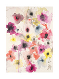 Candy Wrapped Blooms Premium Giclee Print by Karin Johannesson