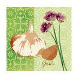 Fresh Linen Garlic Premium Giclee Print by Lola Bryant