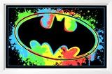 Batman Logo Blacklight Prints